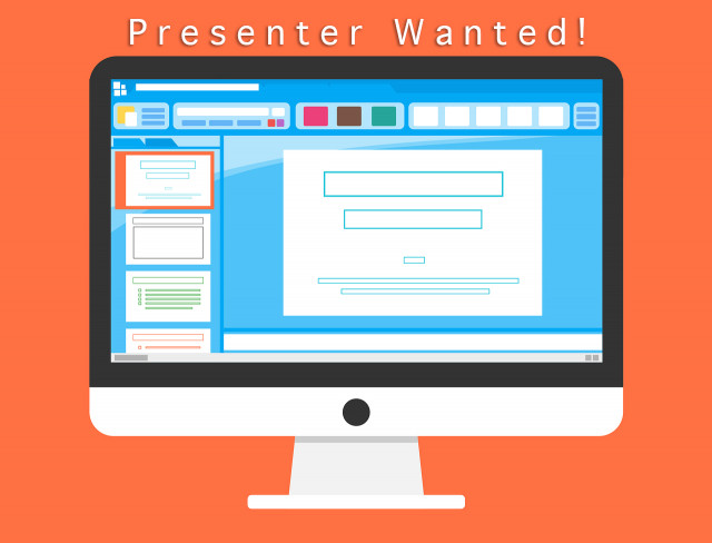 presenter-wanted